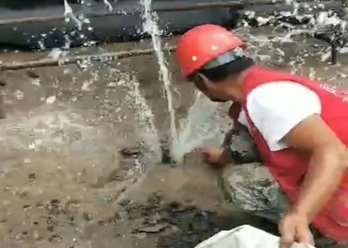 污水厂堵漏